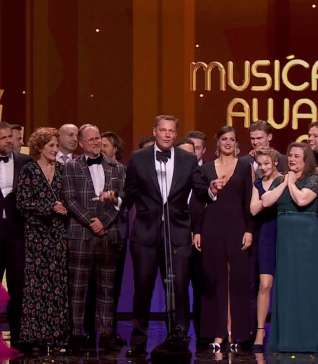 Lazarus grote winnaar bij vakjury Musical Awards, Waalwijkse De Bont is aanstormend talent