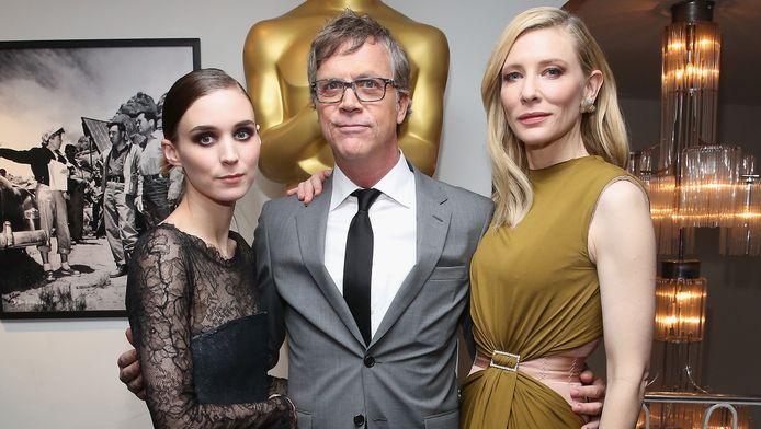 Rooney Mara, Todd Haynes et Cate Blanchett