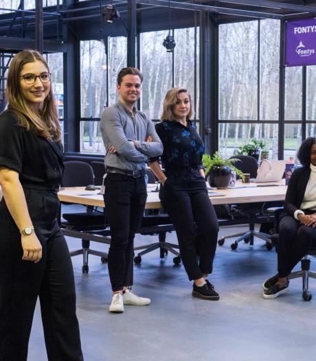 Studenten van Fontys lopen stage bij tientallen bedrijven tegelijk op High Tech Campus Eindhoven