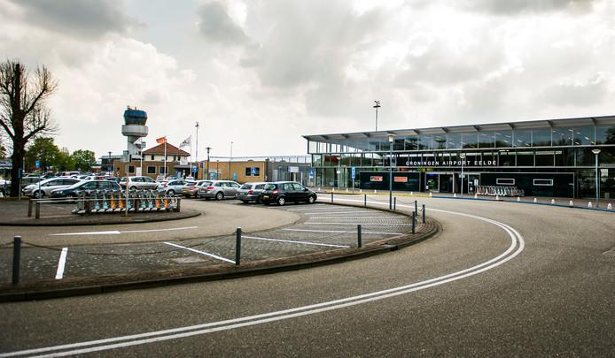 Eelde Airport, vlakbij Groningen. Foto ter illustratie.