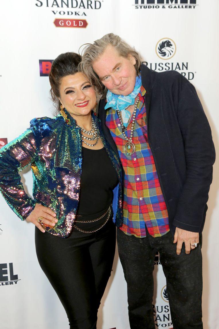 Val Kilmer met kunstenares Tamie Adaya