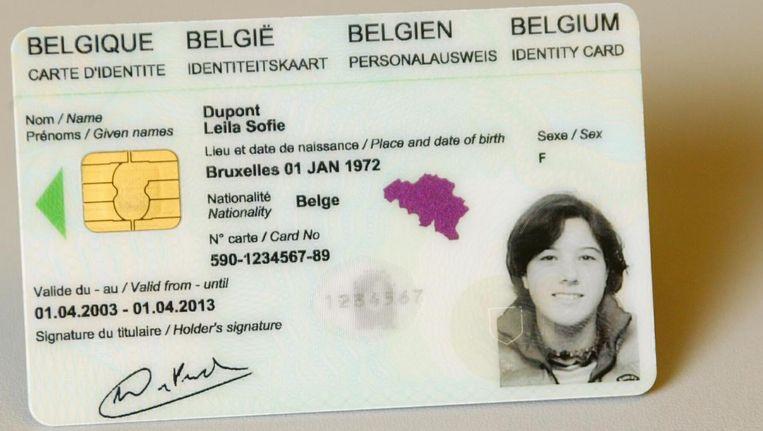 id kaart belgie Federale politie onderschepte vorig jaar meer dan 1.700 valse