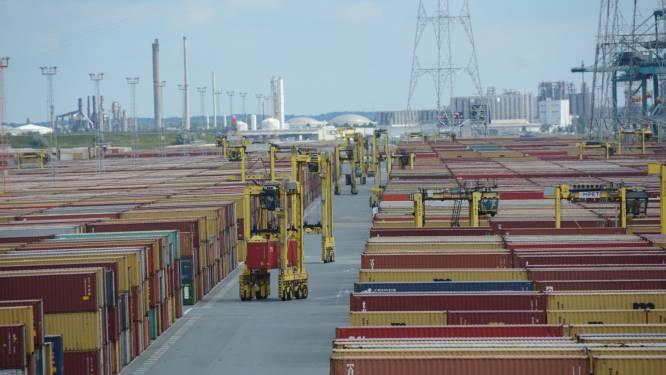 Record containeroverslag beperkt schade voor haven in coronajaar 2020