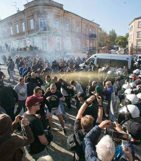 Politie beschermt eerste homodemonstratie in Polen