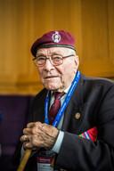 William Gladden,, veteraan van D Day 'Pegasus Bridge'.