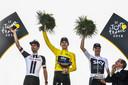 Tom Dumoulin stond vorig jaar op het eindpodium in de Tour de France.