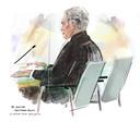 Advocaat Menno Buntsma in de rechtbank Breda. Zijn cliënt Sandro H. verscheen vrijdag niet.