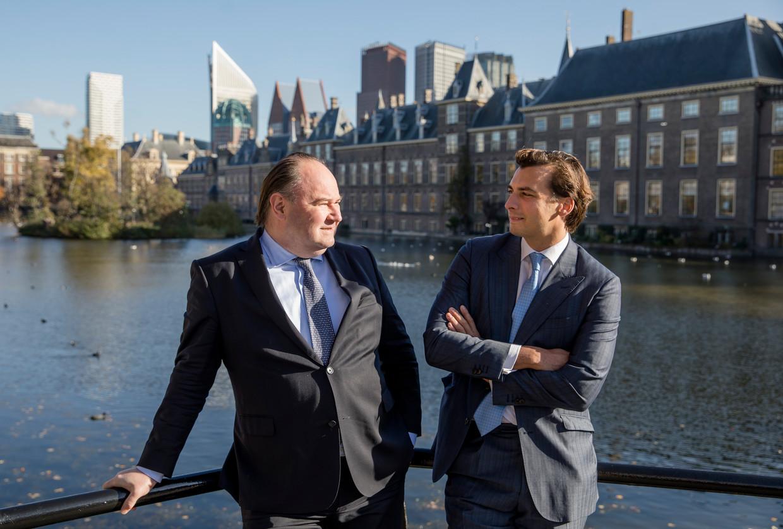 Henk Otten en Baudet in betere tijden. Beeld Bart Maat/ANP