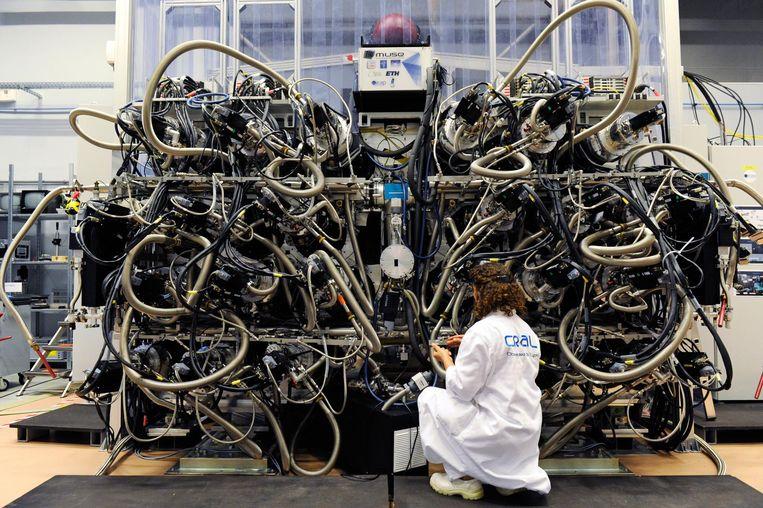 De Multi Unit Spectroscopic Explorer (Muse). Beeld Eric Le Roux / Service Communication / UCBL