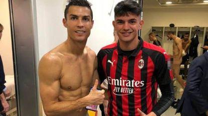 Speler van Milan deelt fier foto met Cristiano Ronaldo. Maar ongewild zet hij Chiellini in vol ornaat online