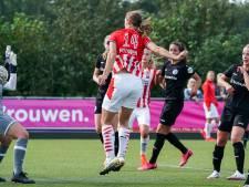 Nouwen schiet titelfavoriet PSV Vrouwen naar eerste overwinning van het seizoen