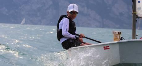 Na halfjaar duikt gestolen zeilbootje van Tjed (13) weer op