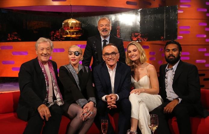 Vooral Madonna's houding tegenover Ian McKellen (links) werd bekritiseerd.