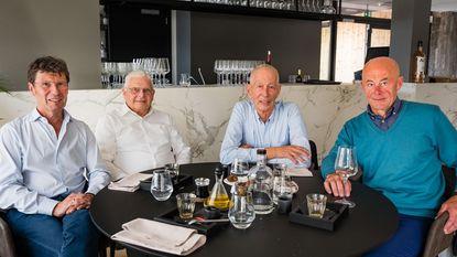 Vier Rotselaarse burgemeesters sinds fusie samen aan tafel