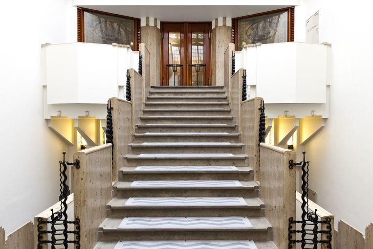Grand Hotel Amrath in Het Scheepvaarthuis Beeld Roy Del Vecchio
