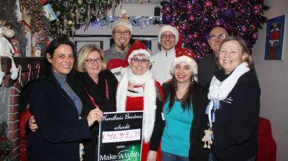 VIDEO. Kersthuis sluit af met recordaantal bezoekers en recordopbrengst voor Make-a-Wish