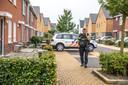 Een agent in Stadshagen na een liquidatiepoging.