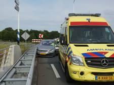 Flesje onder rem veroorzaakt eenzijdig ongeval in Kaatsheuvel