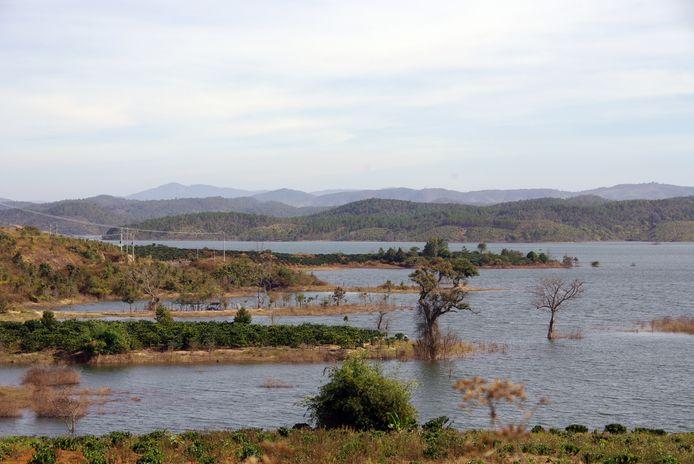 Beeld ter illustratie - Een stuwmeer in Vietnam