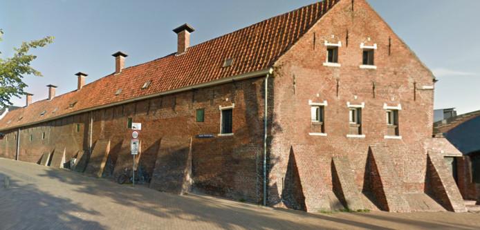De buitenzijde van het Pepergasthuis in Groningen