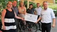 Opbrengst fietsenveiling voor zieke kinderen