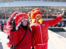 Super Bowl-winnaar Kansas City Chiefs verbiedt fans dragen indianentooien