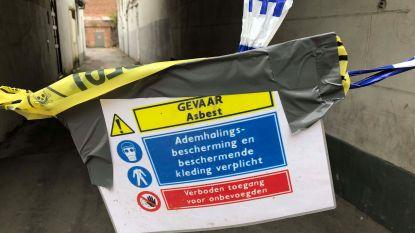 Asbest komt vrij bij afbraakwerken: school en kinderopvang gaan dicht