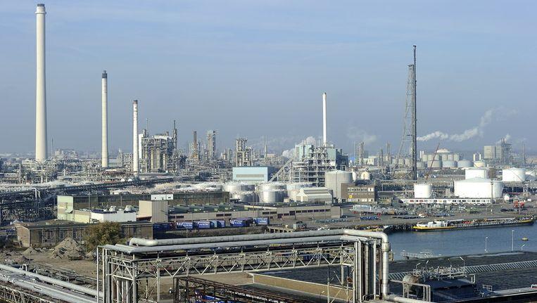 CO2-uitstoot boven Rotterdam. © ANP Beeld