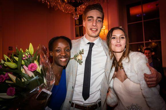 Eliane, Arno en Charissa