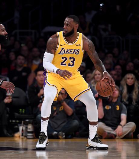 Lakers verslaan Rockets na inhaalrace