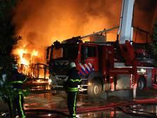 Paardenloods afgebrand in Kruisland, dieren in veiligheid gebracht