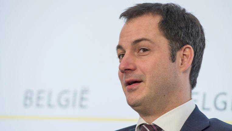 Minister Alexander De Croo wil het onderzoek van het federaal parket afwachten.