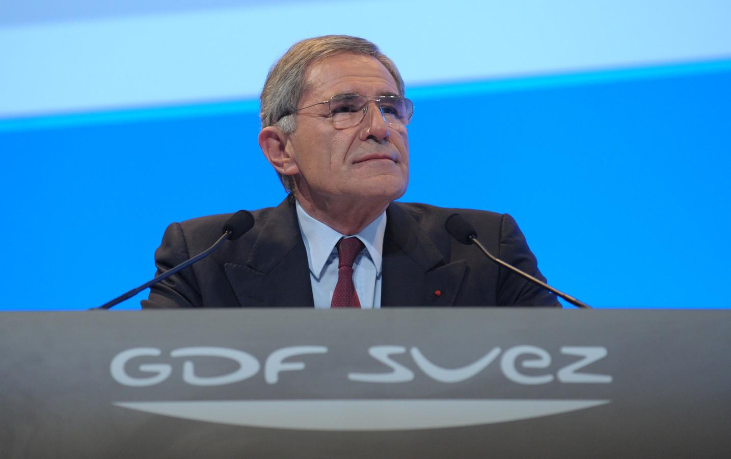 Gerard Mestrallet, PDG de GDF Suez