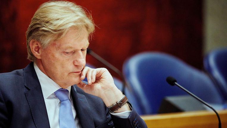 Staatssecretaris Martin van Rijn (Volksgezondheid) tijdens het Tweede Kamerdebat over het persoonsgebonden budget (pgb) Beeld anp