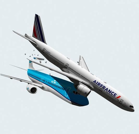 Air France hindert KLM.