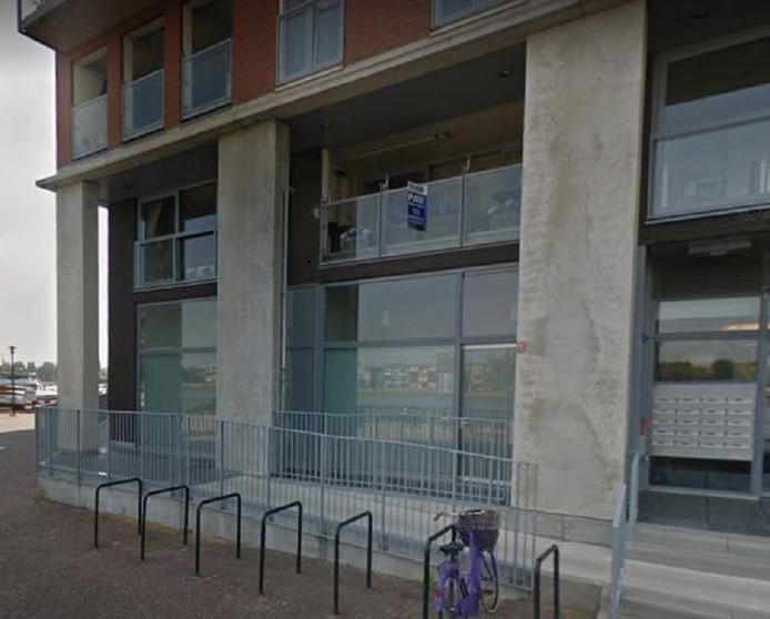 NOPN bv, het bedrijf achter DeReisPlanner, was gevestigd in dit kantoor in Dordrecht.