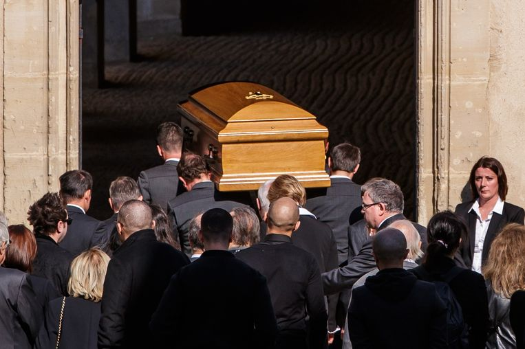 De begrafenis van Charles Aznavour.