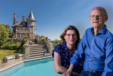 De eigenaren van Ardennen Plezier, Judit en Henk Vrielink, verhuren flink meer vakantiehuizen.