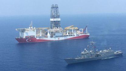Turks onderzoeksschip gespot in Griekse economische zone