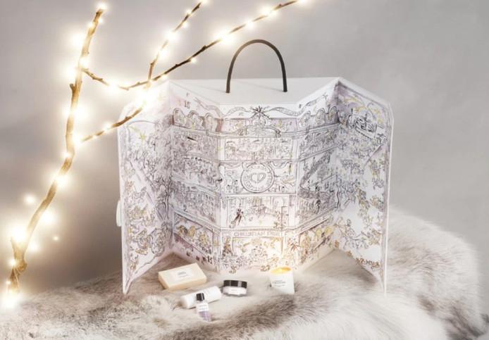 Le splendide et luxueux calendrier de l'Avent 2019 de la maison Dior.
