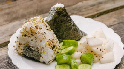 Japans vanavond! Loïc maakt onigiri's
