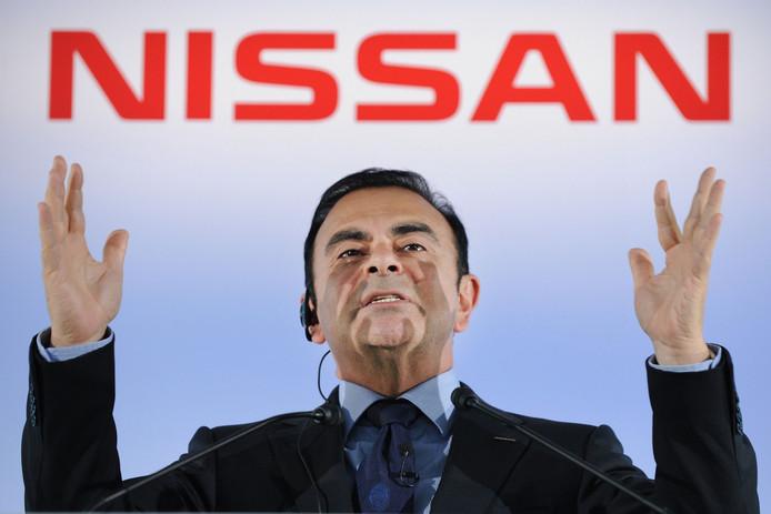 voormalig voorzitter van Nissan Carlos Ghosn is door Japan aangeklaagd.