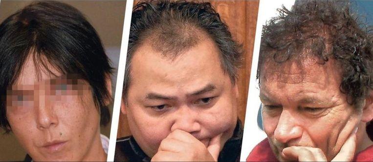 Onder meer Marie-Ange Géris, die levenslang kreeg voor moord, Dara Som, veroordeeld voor dertig jaar voor het doodschieten van een bakker en cannabisboer Patrick Lagrou staan op de lijst.