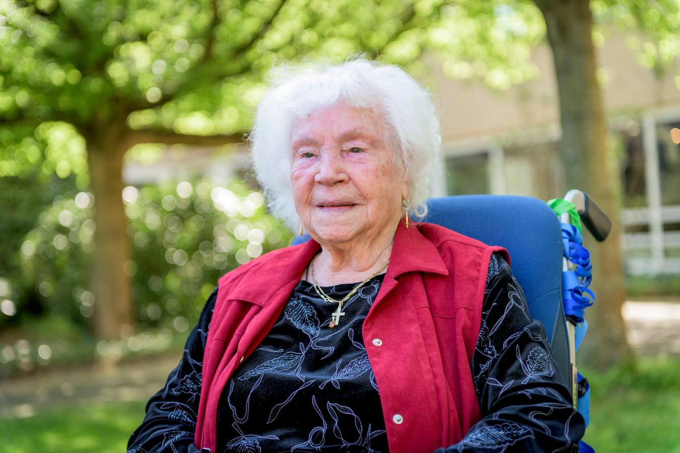 Mevrouw Teesink-Van de Worp wordt 105 jaar oud