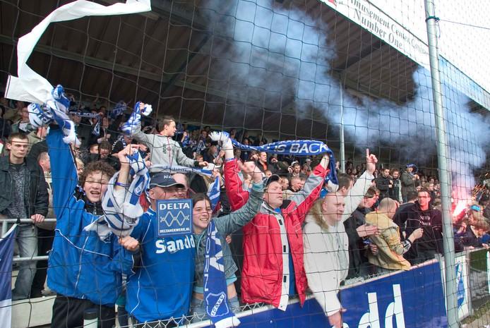 Eén van de hoogtepunten uit het bestaan van Blauw Hart: AGOVV heeft buurman GA Eagles verslagen.