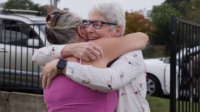 La plus grande peur de Christine a été de ne plus jamais revoir sa soeur en vie