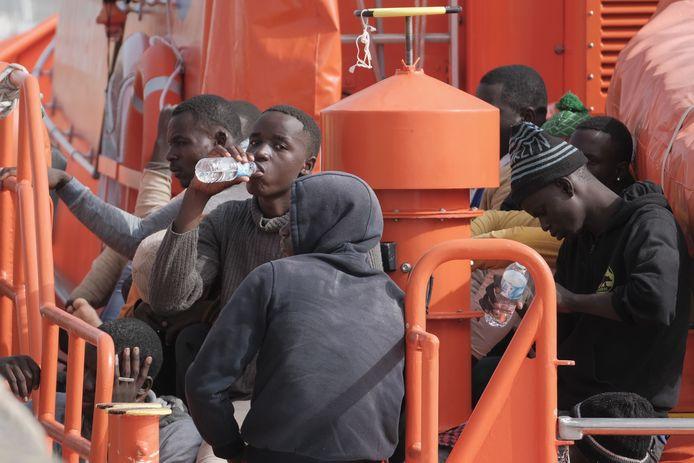 Migranten in Gran Canaria.