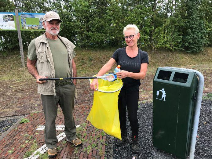 Kees van den Biggelaar en Astrid van Esch.