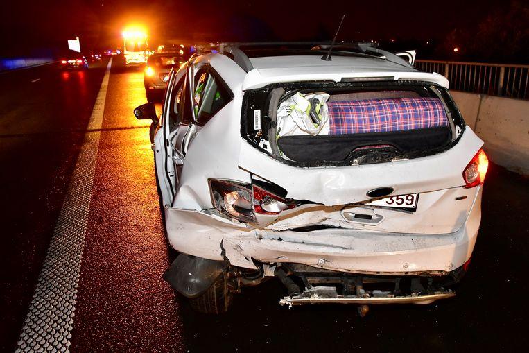 Zwaargewonde slachtoffers vielen er niet bij de twee ongevallen maar er was wel veel materiële schade.