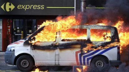 """74 arrestaties tijdens Brusselse 'gele hesjes'-betoging die uitdraait op geweld: """"We zijn al ons krediet kwijt"""""""